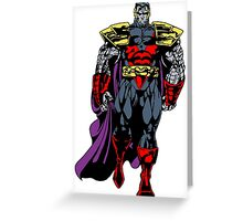 Colossus Greeting Card