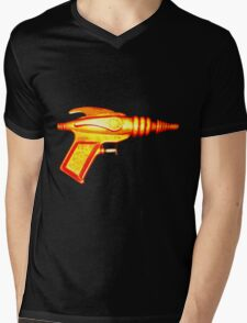 SCIFI RAYGUN Mens V-Neck T-Shirt
