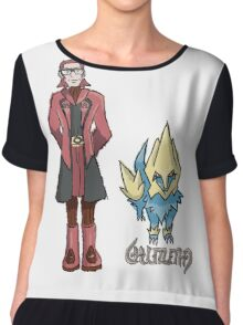 Ember's Maxie and Manectric Women's Chiffon Top