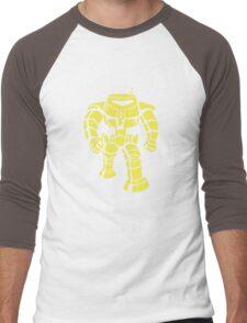 Manbot - Lime Variant Men's Baseball ¾ T-Shirt
