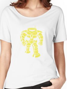 Manbot - Lime Variant Women's Relaxed Fit T-Shirt