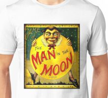 MAN IN THE MOON; Vintage Game Advertising Print Unisex T-Shirt
