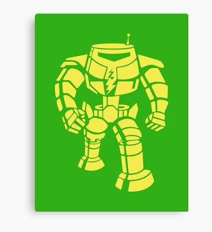 Manbot - Lime Variant Canvas Print