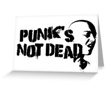 Punk Rock Revolution Rebel Anarchy Sex Pistols Exploited Cool Protest Anti System Cool T-Shirts Greeting Card