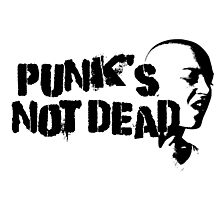 Punk Rock Revolution Rebel Anarchy Sex Pistols Exploited Cool Protest Anti System Cool T-Shirts Photographic Print