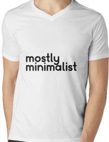 Mostly minimalist Mens V-Neck T-Shirt