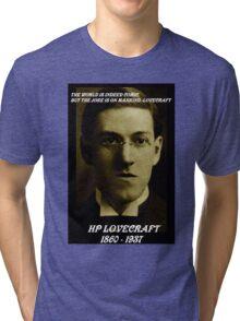 HP LOVECRAFT MEMORY Tri-blend T-Shirt
