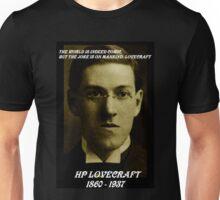 HP LOVECRAFT MEMORY Unisex T-Shirt