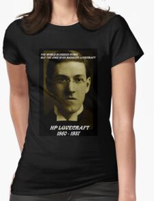 HP LOVECRAFT MEMORY Womens Fitted T-Shirt