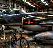 Gloster Meteor by Andrew Pounder