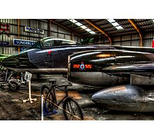 Gloster Meteor Photographic Print