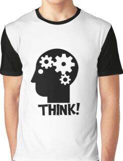 Clever Geek Smart Think Free Thinking Motivational Inspirational Spiritual Geeky Cool T-Shirts Graphic T-Shirt