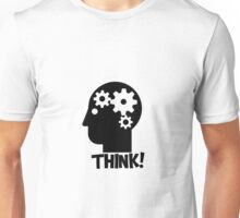 Clever Geek Smart Think Free Thinking Motivational Inspirational Spiritual Geeky Cool T-Shirts Unisex T-Shirt