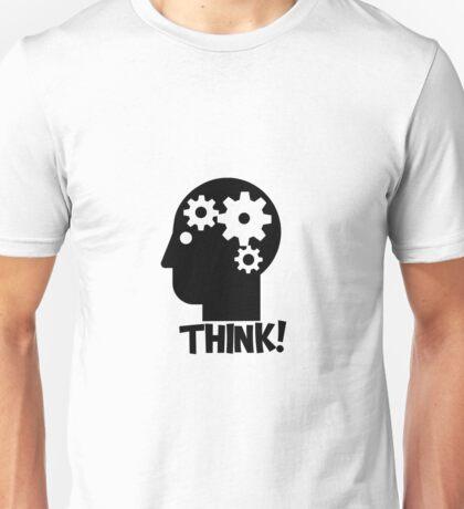 Clever Geek Smart Think Free Thinking Motivational Inspirational Spiritual Geeky Cool T-Shirts Unisex T-Shirt