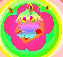 Radioactive Rainbows Bloom by Mars714