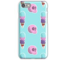 Ice Cream Skull Fun Time! iPhone Case/Skin