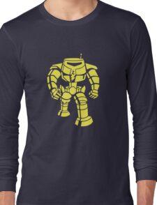 Manbot - Plain Blue Colour Variant Long Sleeve T-Shirt