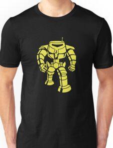 Manbot - Plain Blue Colour Variant Unisex T-Shirt