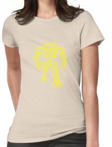 Manbot - Plain Blue Colour Variant Womens Fitted T-Shirt