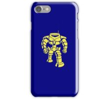 Manbot - Plain Blue Colour Variant iPhone Case/Skin