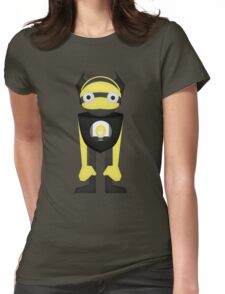 Robot Character #3 Womens Fitted T-Shirt