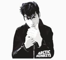 Alex Turner   Arctic Monkeys   Smoking a Cigarette   With Logo by cbazoe