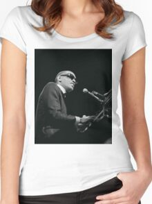 Ray Charles Women's Fitted Scoop T-Shirt