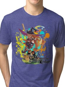 The Witch And The Hundred Knight Splatter Tri-blend T-Shirt