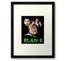 VAMPIRA PLAN 9 Framed Print