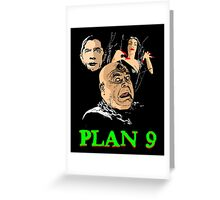 VAMPIRA PLAN 9 Greeting Card