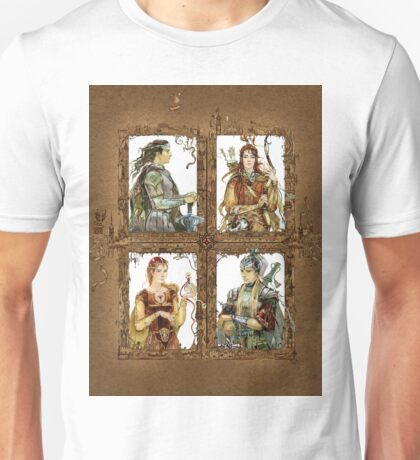 King of Narnia - Peter,Susan,Lucy,Edmund Unisex T-Shirt