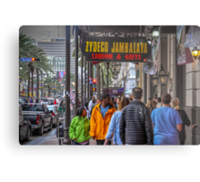 On The Street In The Big Easy Metal Print