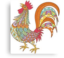 Beautiful Rooster Canvas Print