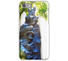 Statue with head  iPhone Case/Skin