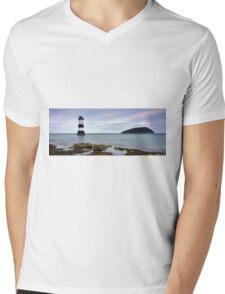 Penmon Point Mens V-Neck T-Shirt