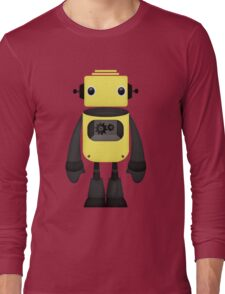 Robot Character #35 Long Sleeve T-Shirt
