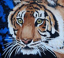 Forest Tiger by Margaret Saheed