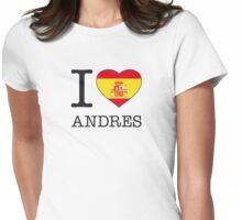 I ♥ ANDRES Womens Fitted T-Shirt