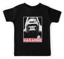 Harambe Gorilla Lover Kids Tee
