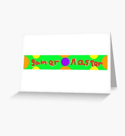 gamer m Greeting Card