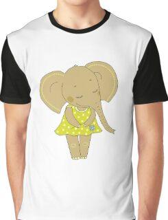Cute elephant girl Graphic T-Shirt