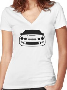 JDM sticker & Tee-shirt - Car Eyes Celica ST205 Women's Fitted V-Neck T-Shirt