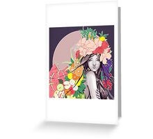Flower Fruits Greeting Card