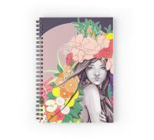 Flower Fruits Spiral Notebook