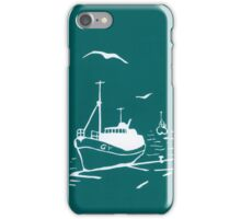 Trawlers - Comrades in Turquoise iPhone Case/Skin