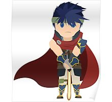 Chibi Ike Vector Poster