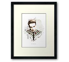 RUDE BOY Framed Print