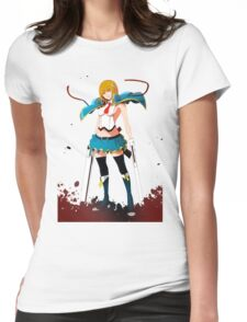 Noel Vermillion action Blazblue Womens Fitted T-Shirt