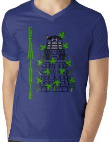 Germinate - Dr Who Mens V-Neck T-Shirt