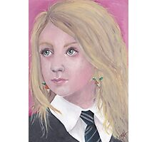 The Girl with the Radish Earrings Photographic Print